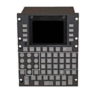 A-10C Computer Display Unit (CDU) - Frontansicht