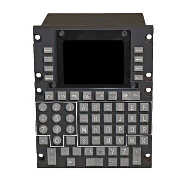 A-10C Computer Display Unit (CDU) - Frontansicht