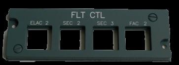 Airbus Overhead Panel FLT Control rechts