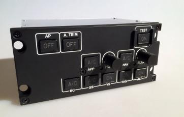 EC135 APCP Autopilot Mode Selector - Frontansicht