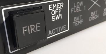 EC 135 Warning Unit - Detailansicht