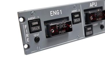 Fire Switch Unit  für A320 Cockpit