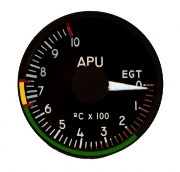 "49mm / 2"" APU Temperatur Indicator"