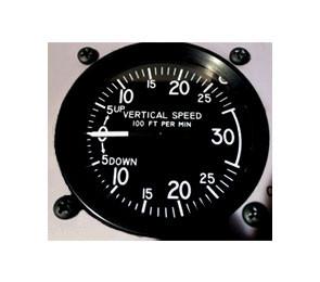 Vertical Speed Indicator STD 3000 ft/min
