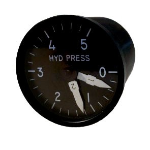 "49mm / 2"" Hydraulic Pressure Indicator"