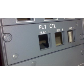 Airbus Overhead Panel FLT Control links