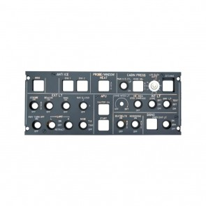 Airbus A320 Overhead Panel Anti-Ice und Lighting - Ansicht 1