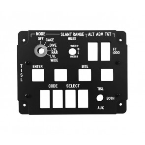 A10C TISL Control - Lightplate + Backplate