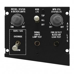 A10C Auxiliary Lighting Panel - inkl. Hardware