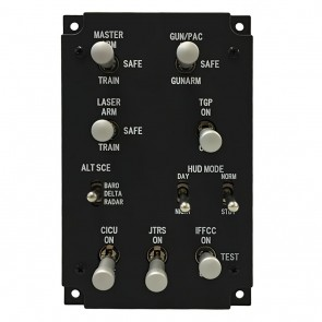 Armament and HUD Control Panel - inkl. Hardware