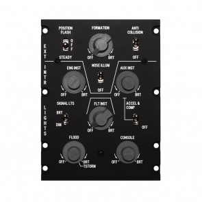 A10C Light Control Panel - inkl. Hardware