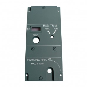 Parking Brake Panel - Backplate - Lightplate