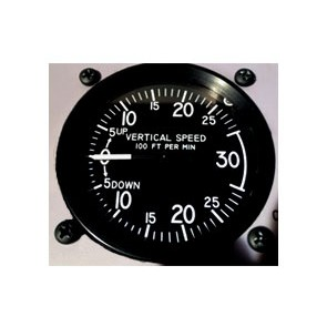 Vertical Speed Indicator STD 3000 ft/min