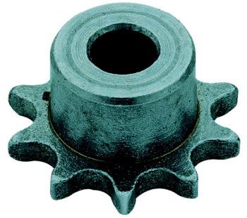 Wheel mount 6mm 10 teeth