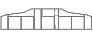 Main Instrument Panel frame