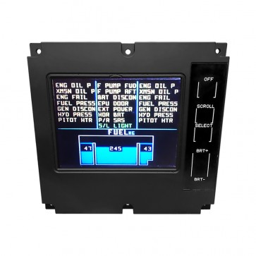 EC135 CAD Caution Advisory Panel - front