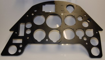 Instrument Holder - Messerschmitt BF109-G  - front