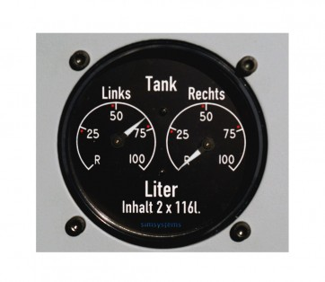 Fuel indicator 2x1160 PRO