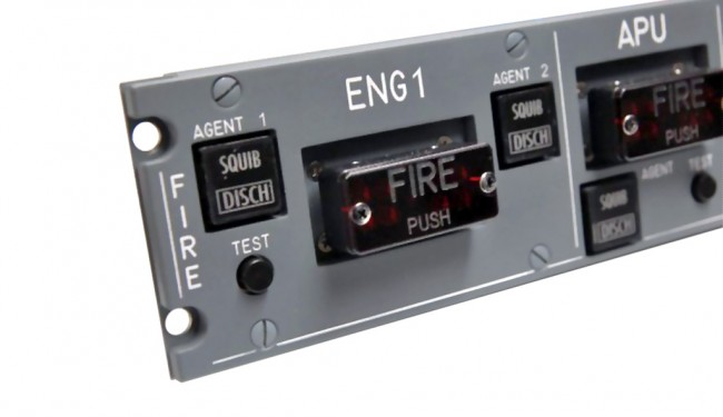 Fire Switch Unit A320 For Airbus 320 Homecockpit Amp Flight