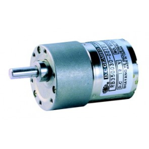 Geared motor 12V 1:30 incl. mounting frame