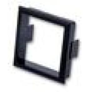 Frame for lightable pushbuttons