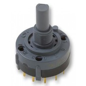 Rotary switch two positions 1 pole index 90°