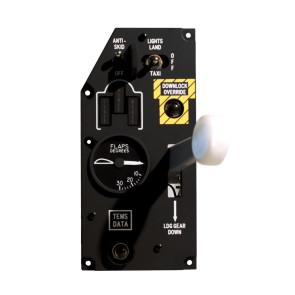 Gear Panel für A-10C Cockpit - incl. Hardware