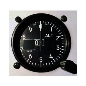 Altimeter sigle pointer with OLED STD Type 2