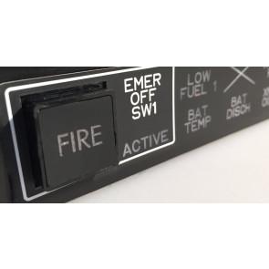 EC 135 Warning Unit - detail
