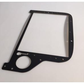 EC 135 Main Instument Panel right - varnished matt black  - front