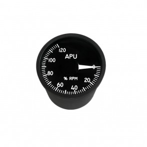 "49mm / 2"" APU rounds per minute Indicator"