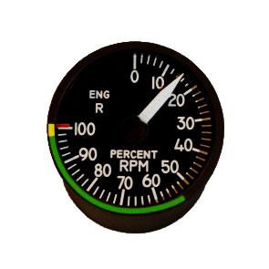 """49mm / 2"""" Right Engine Drehzahlmesser"""