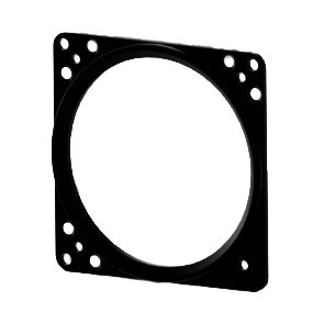 """Face plate 80mm / 3,15"""" instrument"""