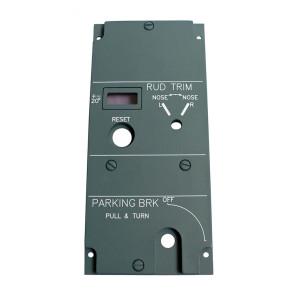 Parking Brake Panel - Backplate - Lightplate