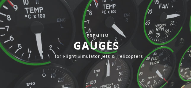 Gauges for Homecockpit