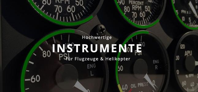 Banner Instrumente für Homecockpit bestellen
